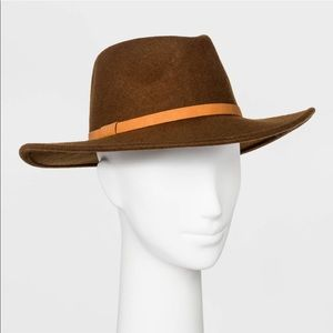 Target Universal Thread Felt Wide Brim Fedora Hat